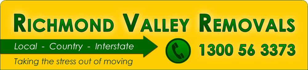 Richmond Valley Removals - Local, Country, Interstate
